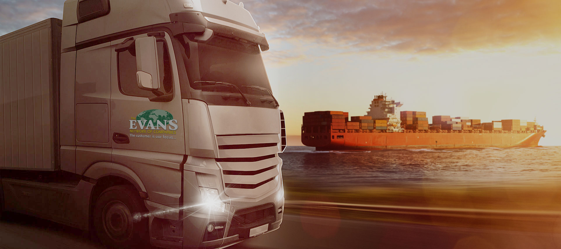Evans Delivery Network of Companies - Ship Evans